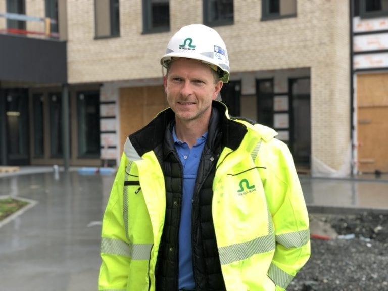 Anders Garnes er daglig leder i Wikholm