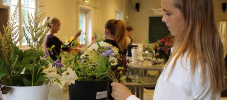 VG2 blomsterdekoratør