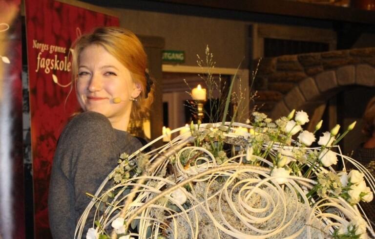 Blomsterdekoratør Ingrid Marie Aarre
