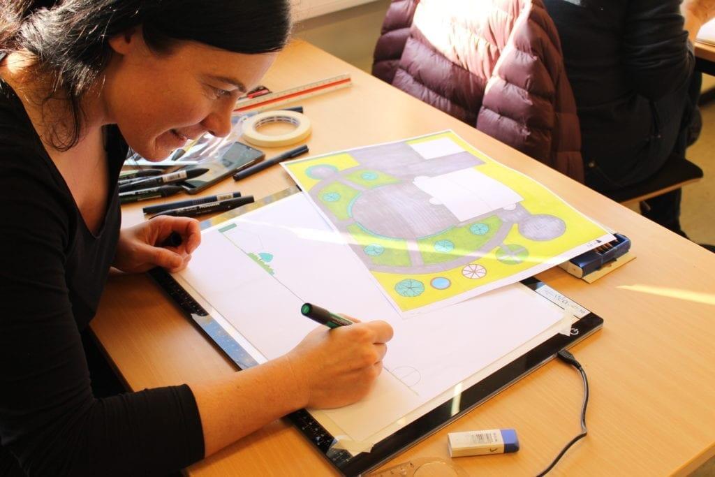 Hageplanlegging