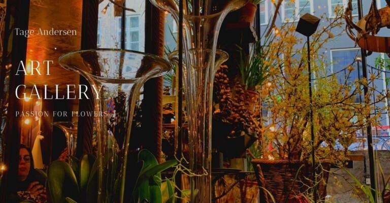 Botanisk design og ledelse på studietur hos Tage Andersen. Foto: Eleni Ellingsen