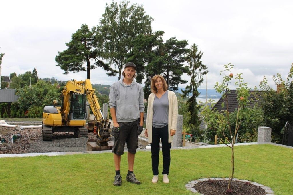 hageplanlegger og anleggsgartner