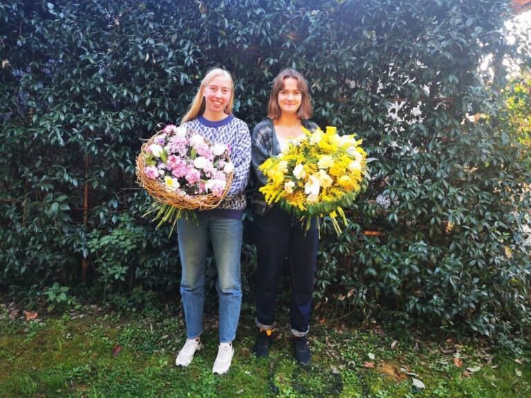 Andrea og Otilie har vært på utveksling med stipend gjennom Erasmus+