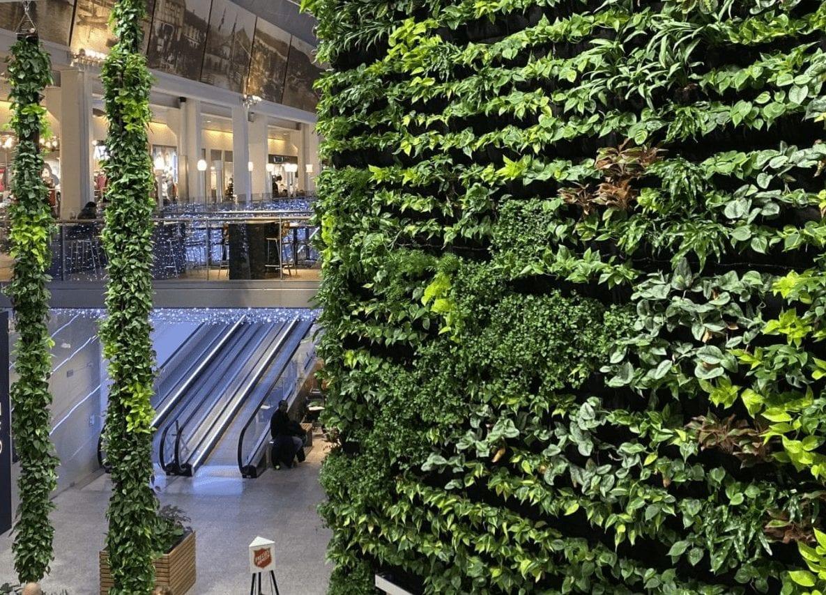 Grønt levende interiør fagskolestudium på Norges grønne fagskole - Vea